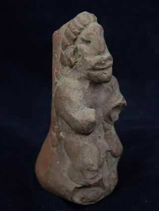 Ancient Teracotta Idol Figure Indus Valley 800 Bc Tr577 photo
