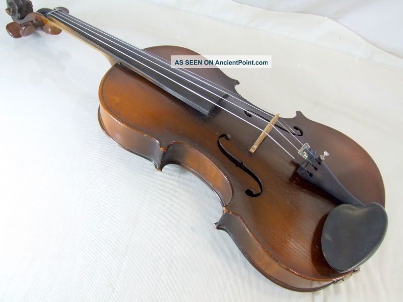 1920s 4/4 Violin Masakichi Suzuki No W2 Japan Mij String photo