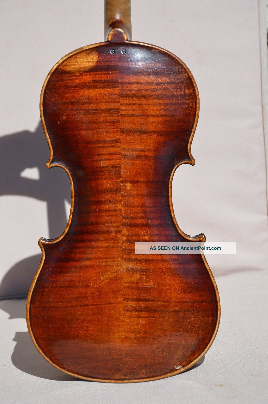 Old Violin Jacobus Stainer 1660 Model String photo
