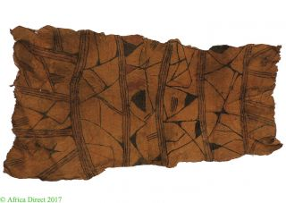 Pygmy Mbuti Barkcloth Ituri Rainforest Congo African Art photo