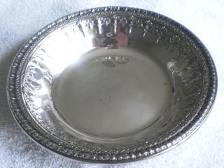 Vintage (1968) Reed & Barton Silverplate Bowl/candy Dish 1202,  D: 6