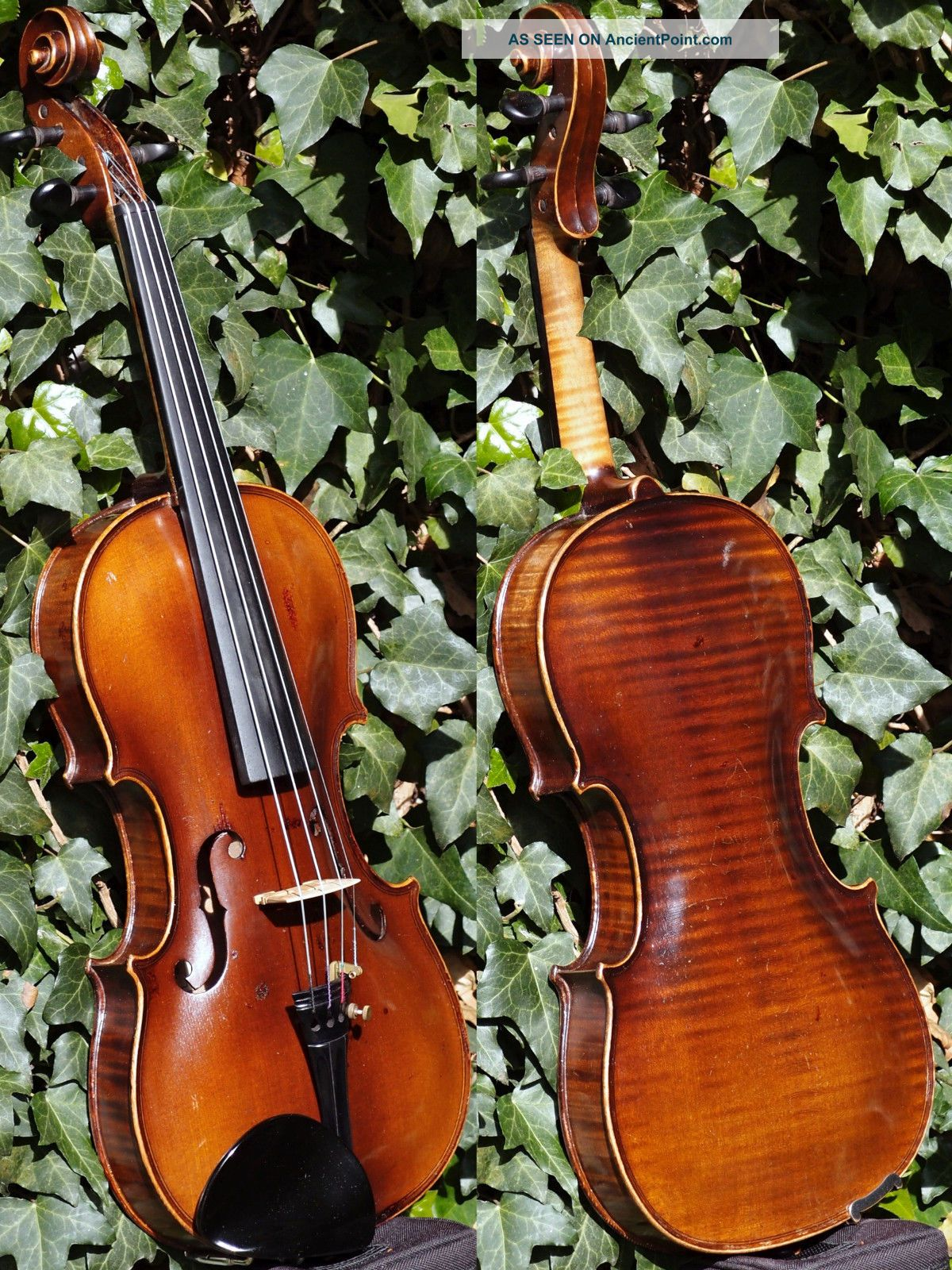 Fine Antique Violin By Ladislav F.  Prokop,  Chrudim 1938.  Tone & Build String photo