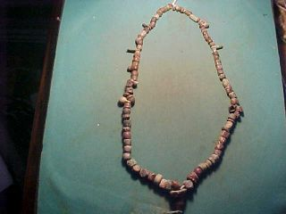 Necklace Of Bronze Age Beads Circa 1st Millennium Bc. photo