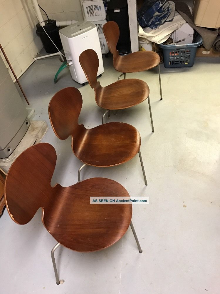 Danish Teak Dining Chairs Post-1950 photo