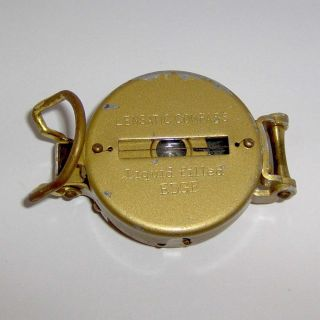 Vintage Lensatic Compass - Liquid Filled L@@k photo