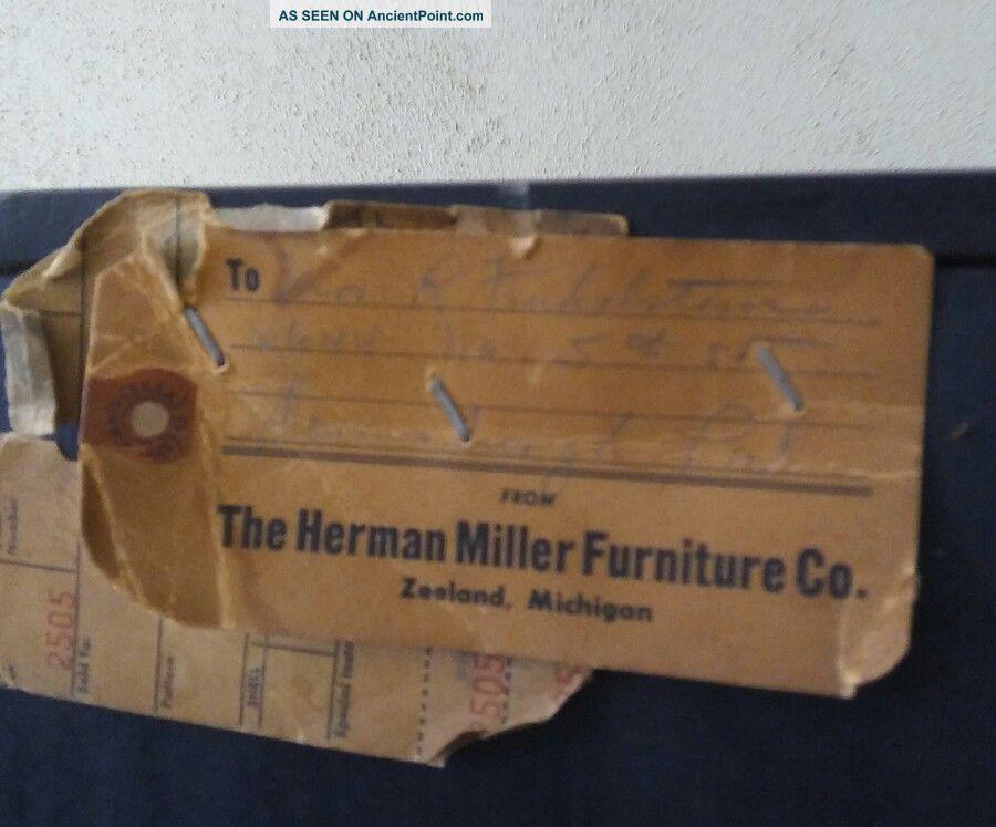Antq Mid Century Herman Miller Dresser Bachelor Chest Orig Knobs & Finish 1950s Post-1950 photo
