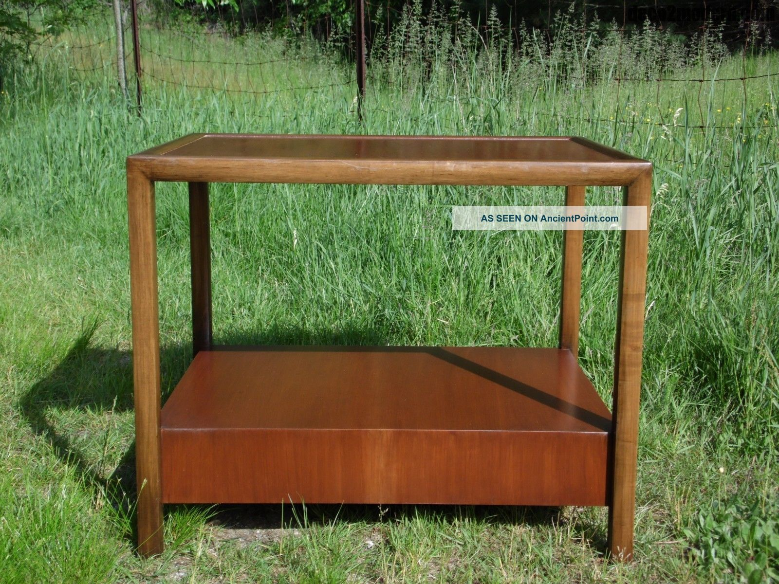 Vintage Mid Century Modern Michael Taylor End Table