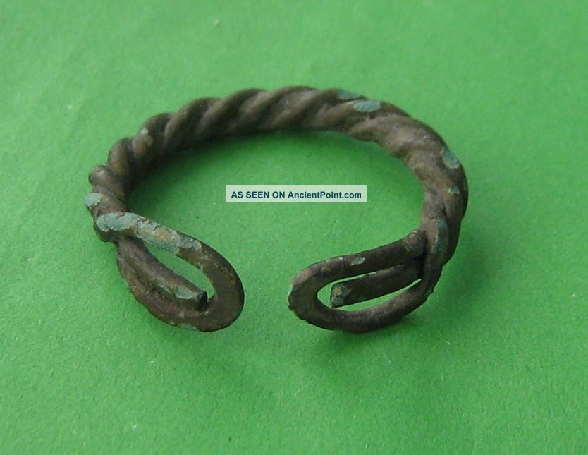 Ancient Viking Bronze Ring Viking photo