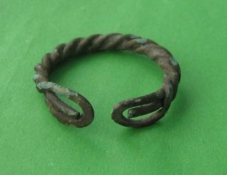 Ancient Viking Bronze Ring photo