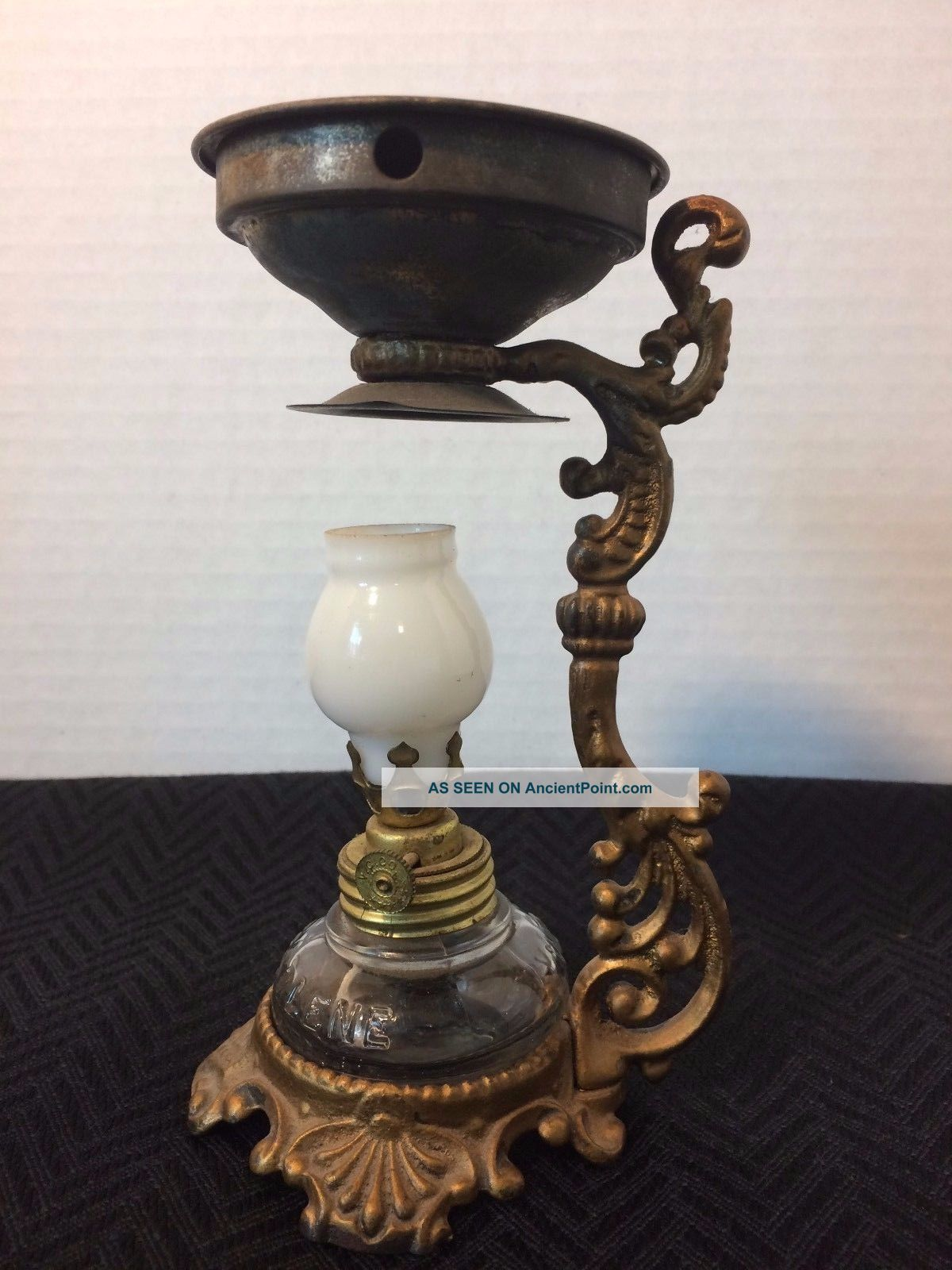 Antique Vapo - Cresolene Vaporizer Medicine Oil Lamp Patents Dates 1885 - 1888 Other Medical Antiques photo