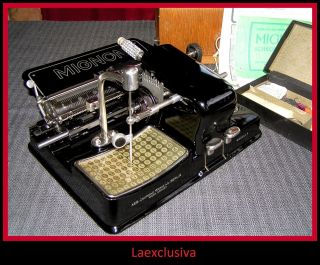 Great Mignon Typewriter From 1927;special Fraktur Gothic Script,  - Pictures Inside photo