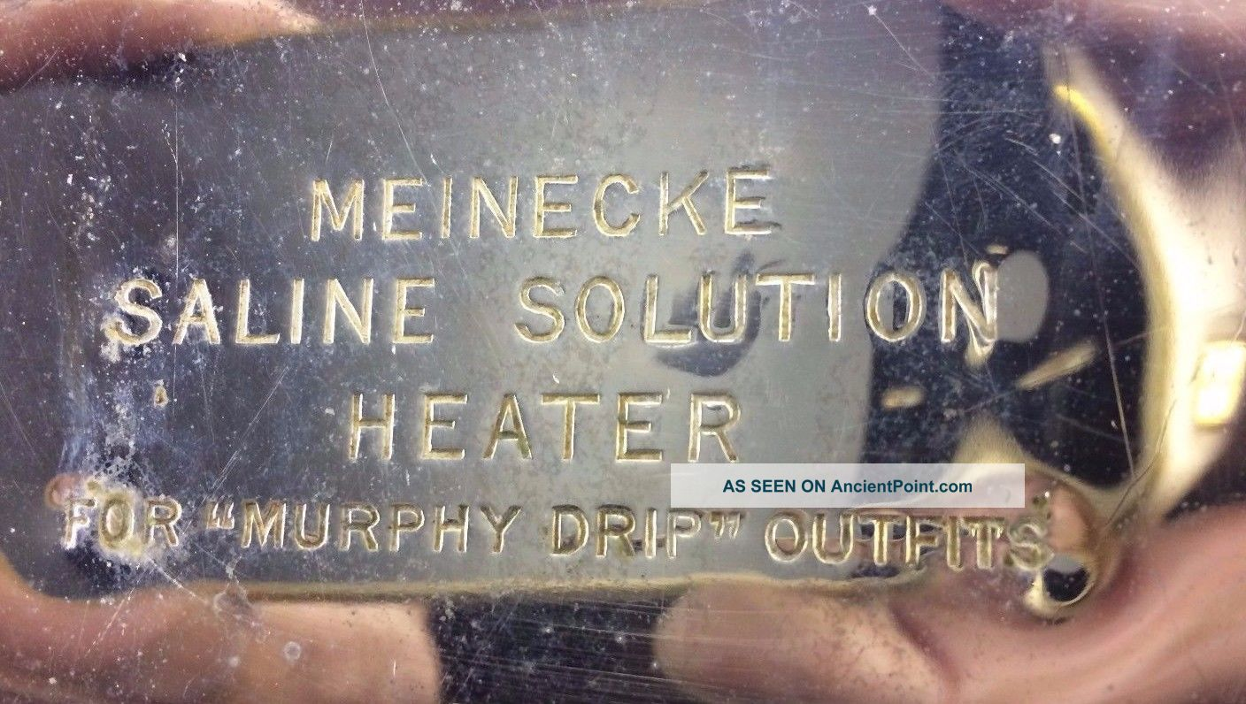 Vintage Meinecke & Co Safety Hot Water Bottle & Bed Warmer 1915 Other Antique Home & Hearth photo