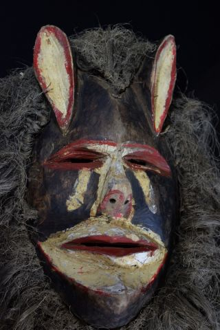Chewa Nyau Mask - Zambia - Katete District photo