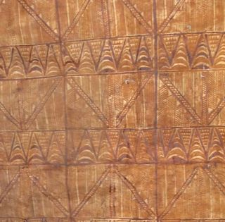 Vintage Tapa Cloth,  Siapo,  From Samoa.  2 photo