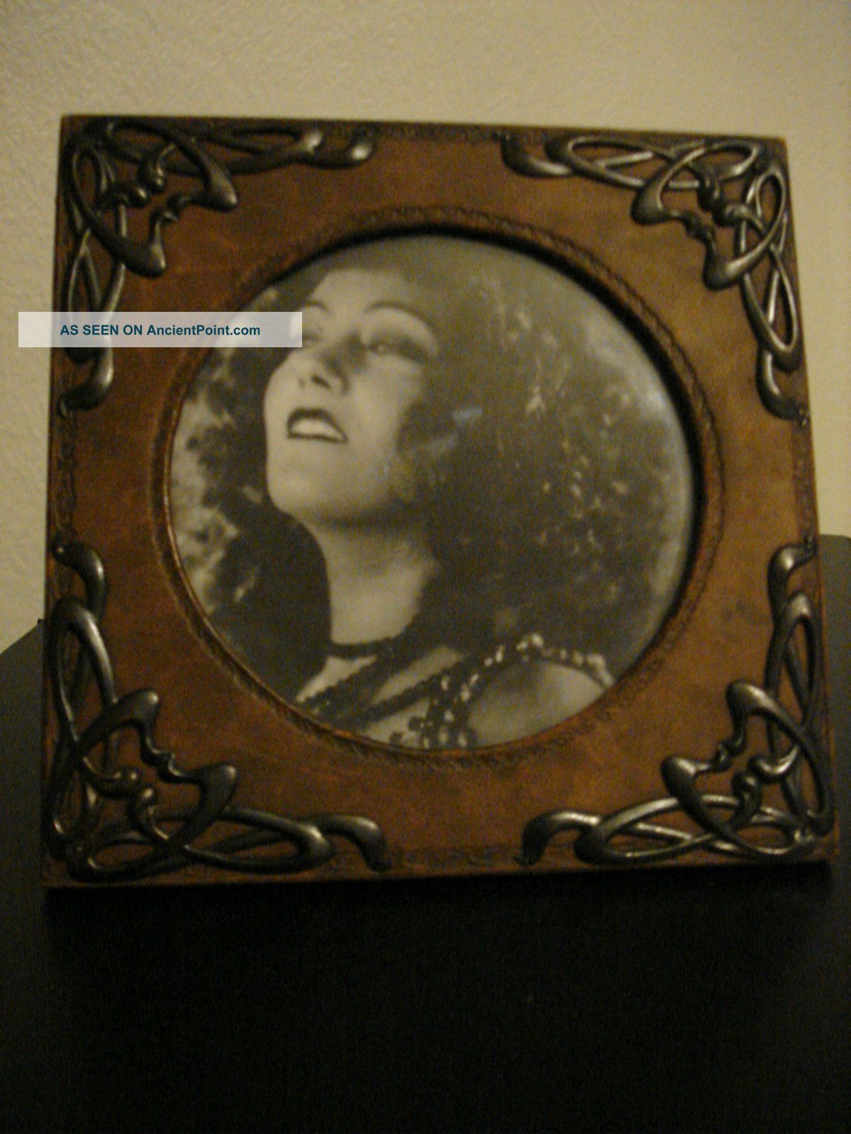 Exquisite Rare,  Art Nouveau,  Arts & Crafts Photo Frame Art Nouveau photo
