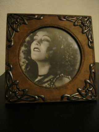 Exquisite Rare,  Art Nouveau,  Arts & Crafts Photo Frame photo