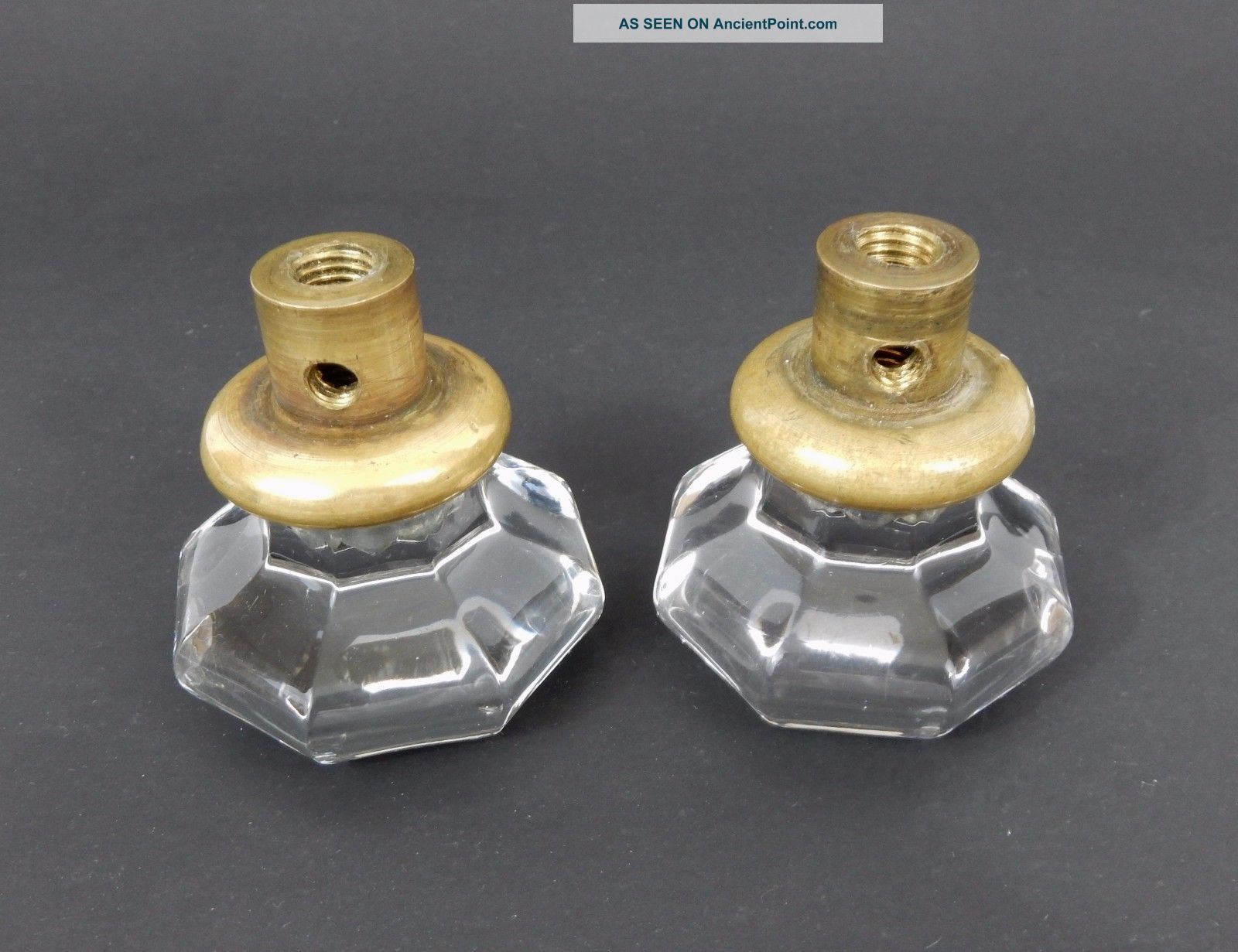 available and doors set of knobs door victorian brass antique glass amber