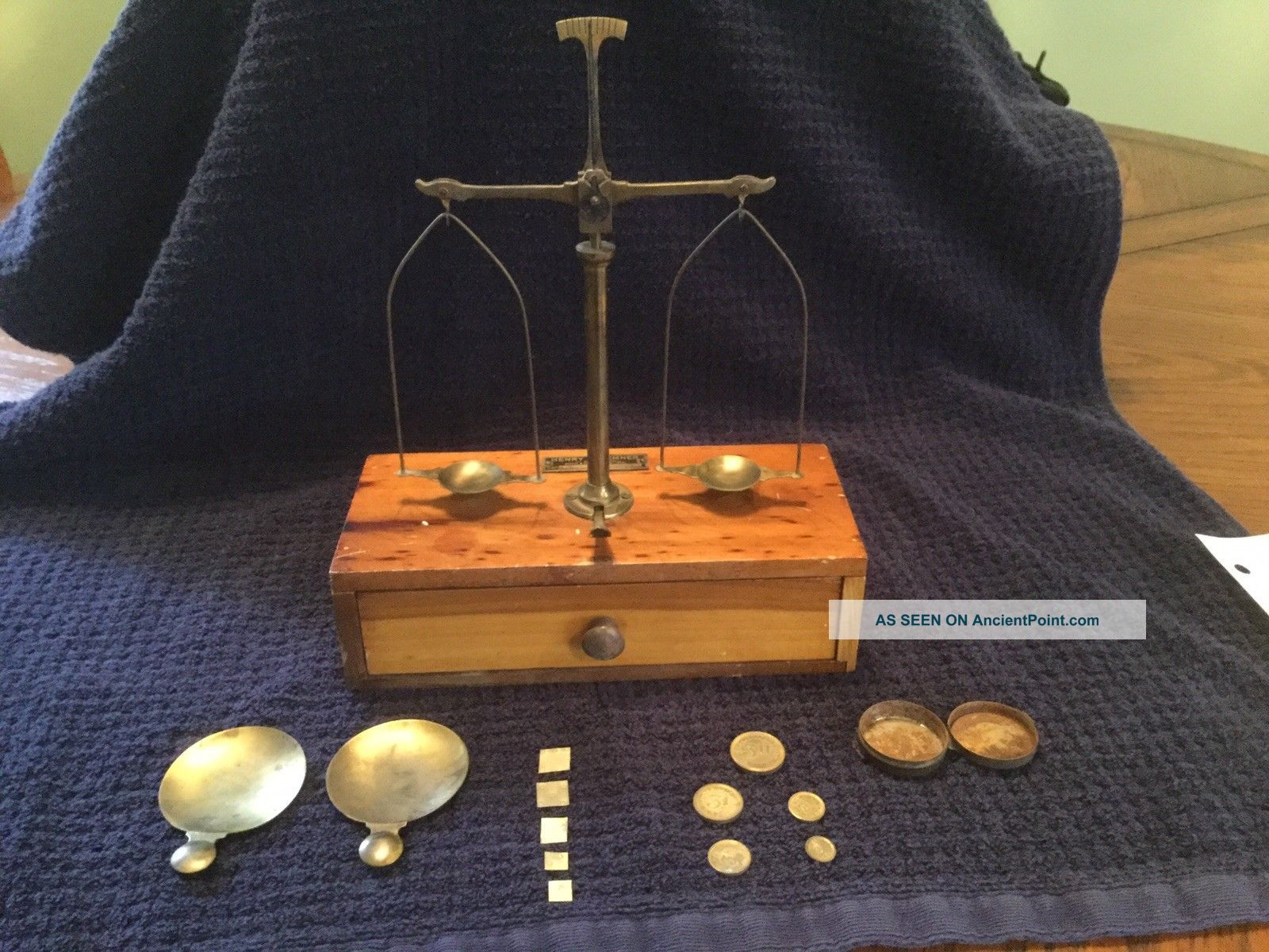 Apothecary Scale - Henry Troemner Scales photo