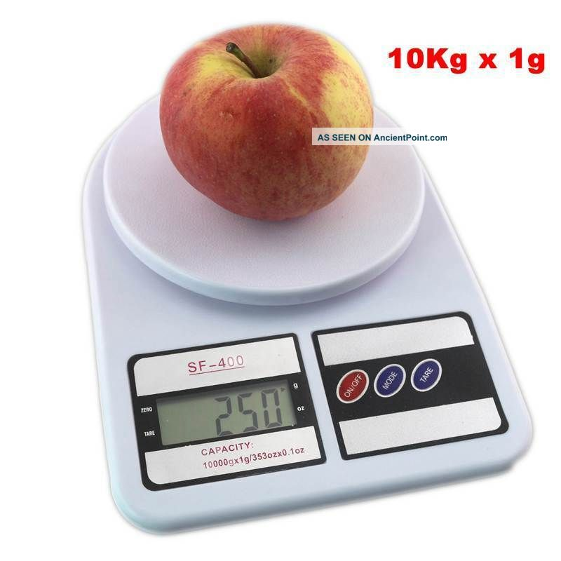 Digital Kitchen Scale 10kg Food Scales Balance Weight Lcd Cooking Measure Tools Scales photo