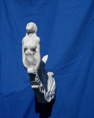 Nautical Small Mermaid Figurehead U - Paint Crafts photo