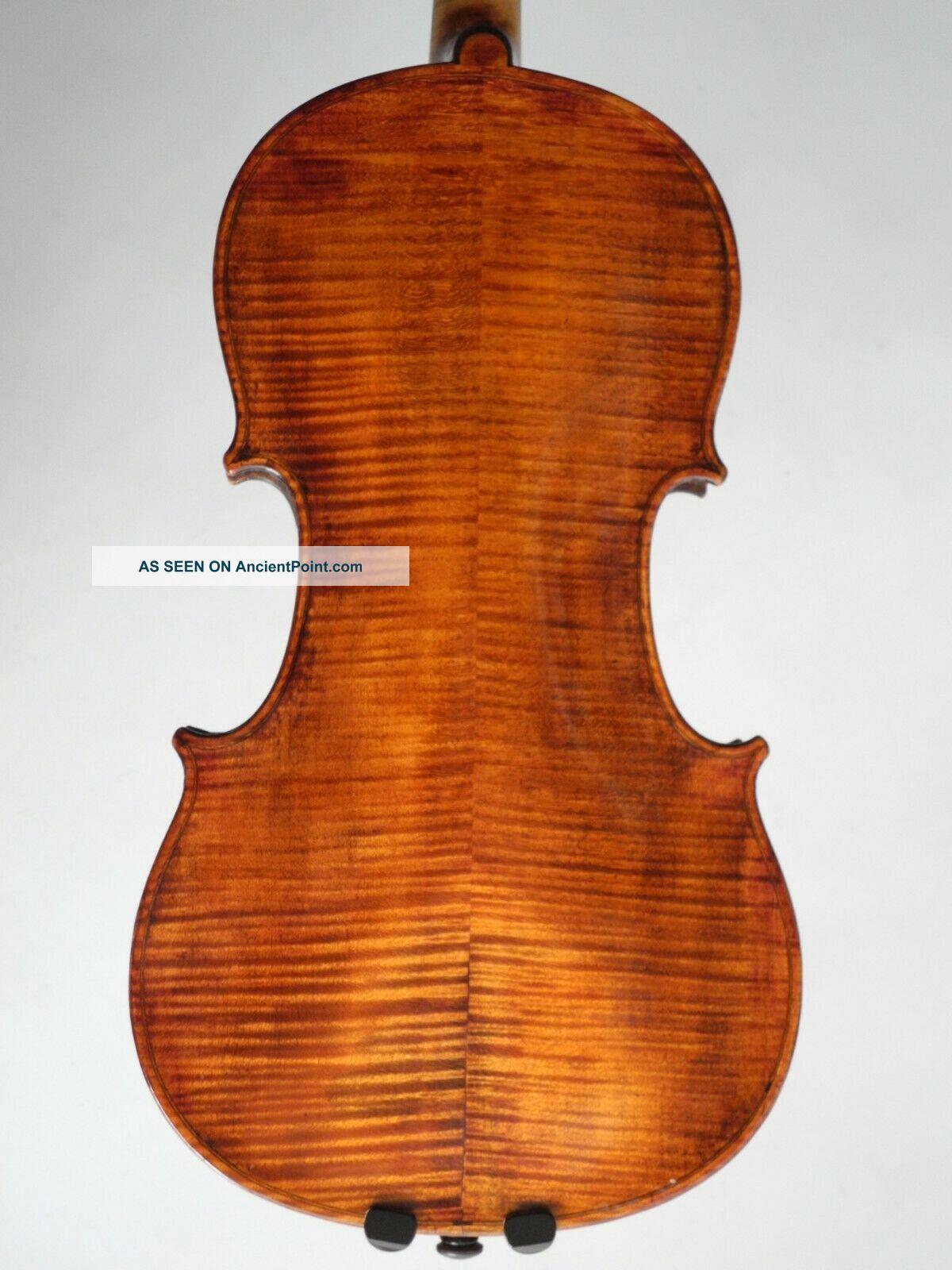 Old Violin 4/4 Labelled Antonius Comuni 1823 String photo